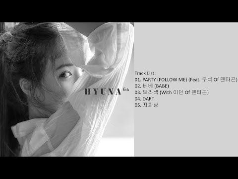 [Mini Album] HyunA – Following