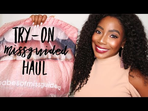 MISSGUIDED HOW TO STYLE / TRY-ON HAUL | Whitney Wiley
