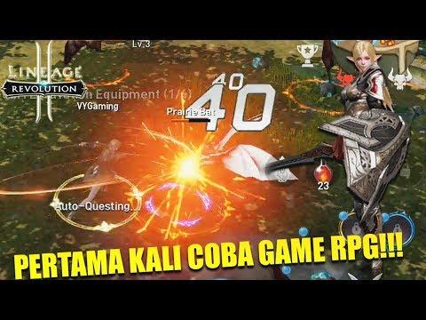 TERNYATA BEGINI RASANYA MAIN GAME RPG OPEN WORLD ONLINE? - LINEAGE 2 REVOLUTION INDONESIA