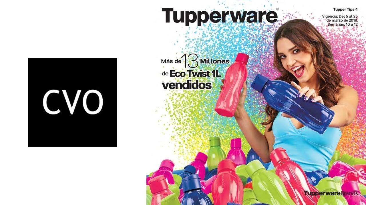 Catálogo Tupperware Tupper Tips 4 Marzo de 2018 de México. Catálogos  Virtuales Online 35f39e5c679