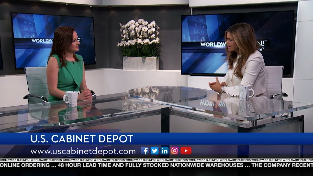U.S. Cabinet Depot Featured On Worldwide Business With Kathy Ireland®