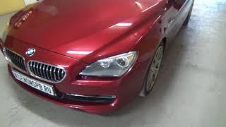 F13 BMW ta'mirlash va headlights tozalash