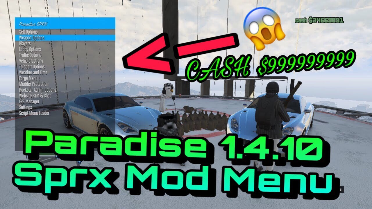 gta 5 mod menu ps3 download free 2018