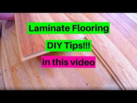 Mobile Home Floor Repair Water Damage - DIY Laminate Flooring (Part 8)