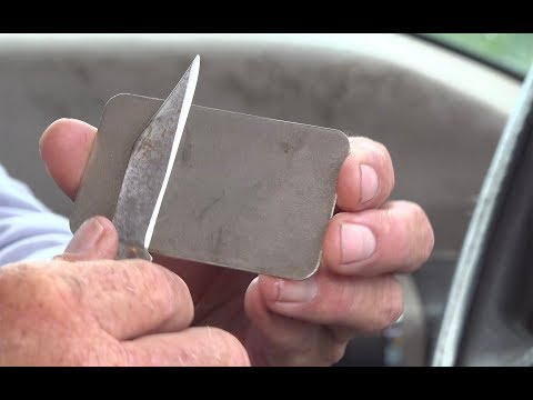 How to Sharpen a Knife and KEEP IT SHARP!