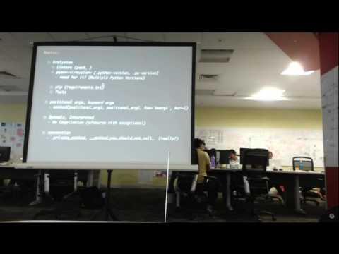 Flying up with Python | Dinesh Kumar | Geek Night May 2016