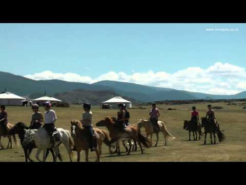 'Help For Heroes' Horse Riding Charity Challenge Mongolia (HD)