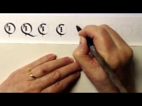Gothic Book Script (Black Letter) Capital Letters 2