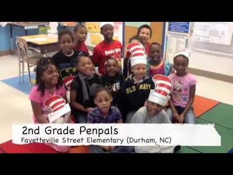 Fayetteville Street Elementary School 2nd Grade Pen Pals Web Chat