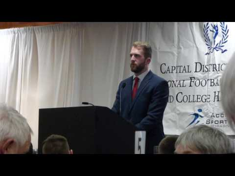 Jim Krecek - Capital District NFF & HOF Award Speech