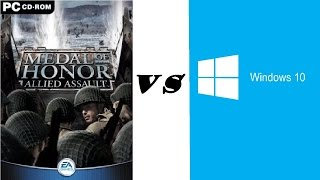 Medal of Honor: Allied Assault - Windows 10 [ENGLISH TUTORIAL]