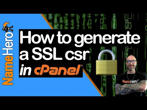 How To Generate A New Certificate Signing Request (CSR) In CPanel