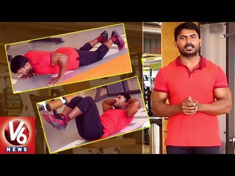 Summer Season Exercise For Weight Loss | Trainer Venkat | Fitness 360 | V6 News