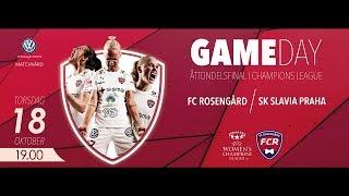 LIVE: FC Rosengård - SK Slavia Praha