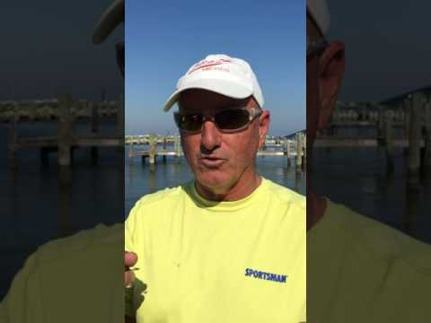 Tommy Vidrine talks springtime Grand Isle specks 2017  - Part 1