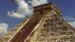 In-flight movie: Teotihuacán, Xochicalco, Chichén Itzá