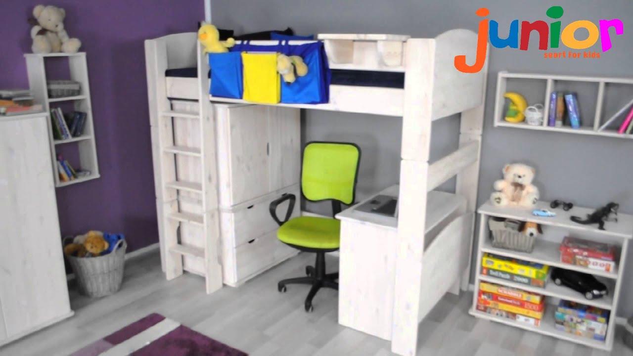 łóżko Na Antresoli Idealne Miejsce Do Zabaw I Nauki Youtube