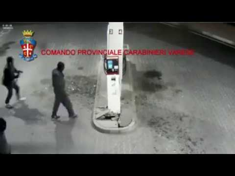 Italy - Varese Payment terminal theft at the gas station