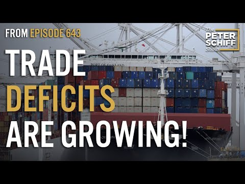 Trade Deficits Grow As The Dollar Shrinks