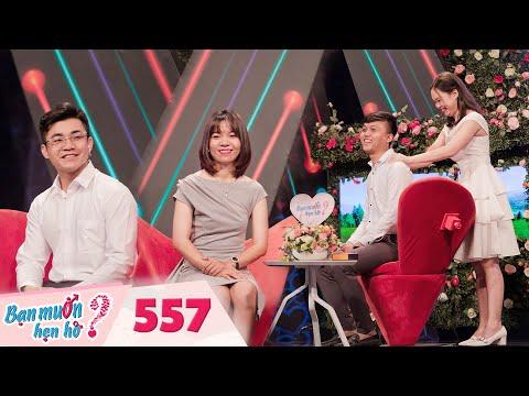 Bạn Muốn Hẹn Hò   Tập 557 FULL: Quyền Linh và Hồng Vân cãi nhau gay gắt trên sân khấu vì chàng trai