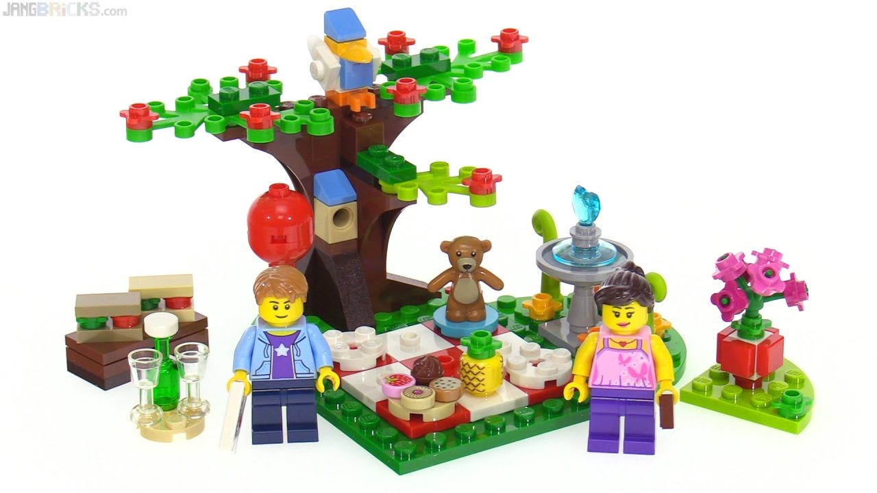 LEGO 2017 Romantic Valentine Picnic Set Review 40236