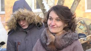 2021-01-20 г. Брест. Открытие 4 дома семейного типа в Ленинском районе.  Новости на Буг-ТВ. #бугтв