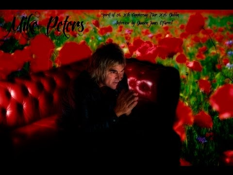 The Alarm's Mike Peters, Interviewed 2016 Dublin