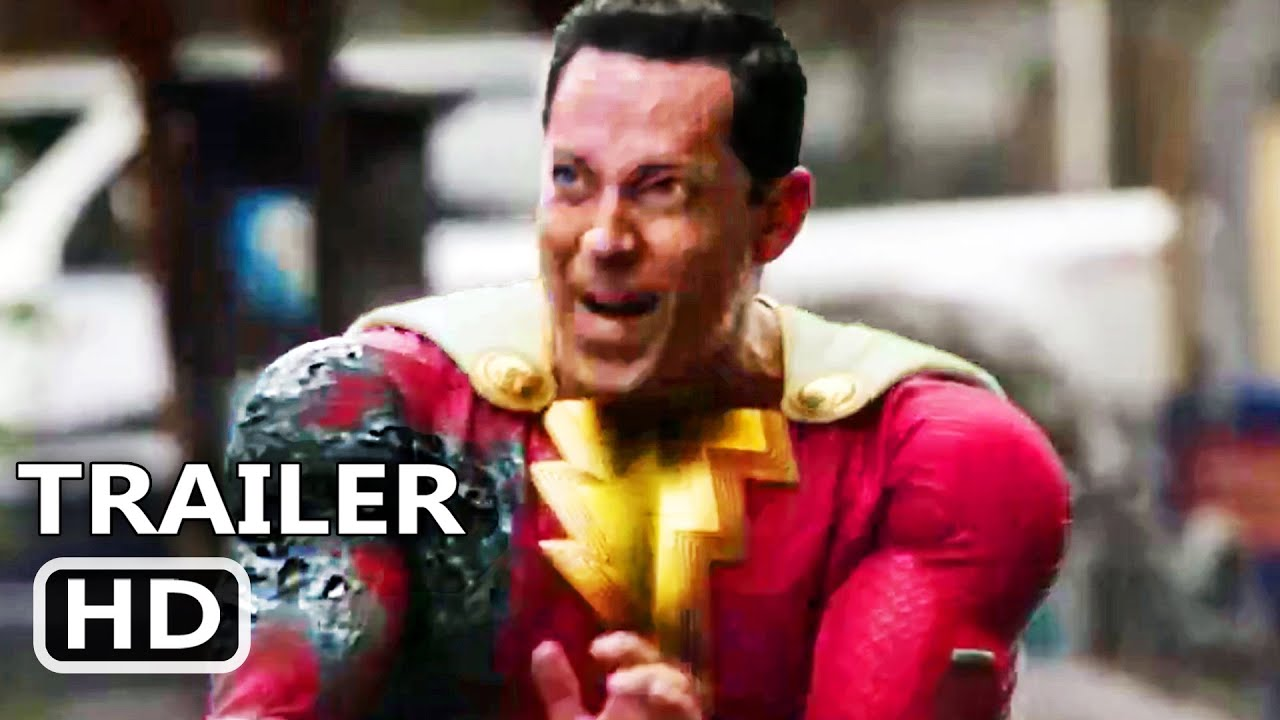 Download SHAZAM 2 FURY OF THE GODS Trailer Teaser (2023)