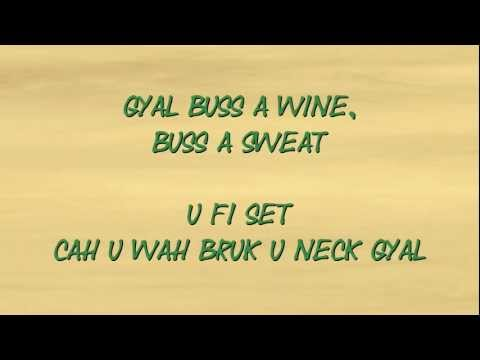 Vybz Kartel - My Baby U (Summer Scheme Riddim) lyrics on screen