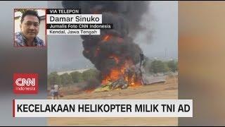 Helikopter Milik Tni Ad Jatuh Di Kendal