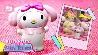 Surpresa de Aniversário da My Melody | Hello Kitty and Friends Mini Tales 3D – Mattel / EP 01