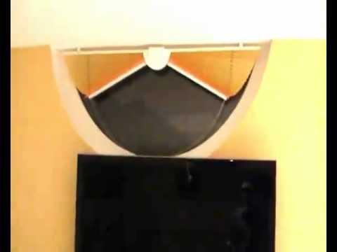 Plissees f r runde fenster youtube for Rundes fenster