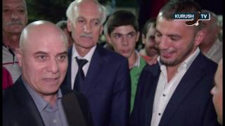 Встреча призера олимпийских игр Джавида Гамзатова