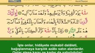 İshak Danış Bakara suresi 24 25 26.sayfa