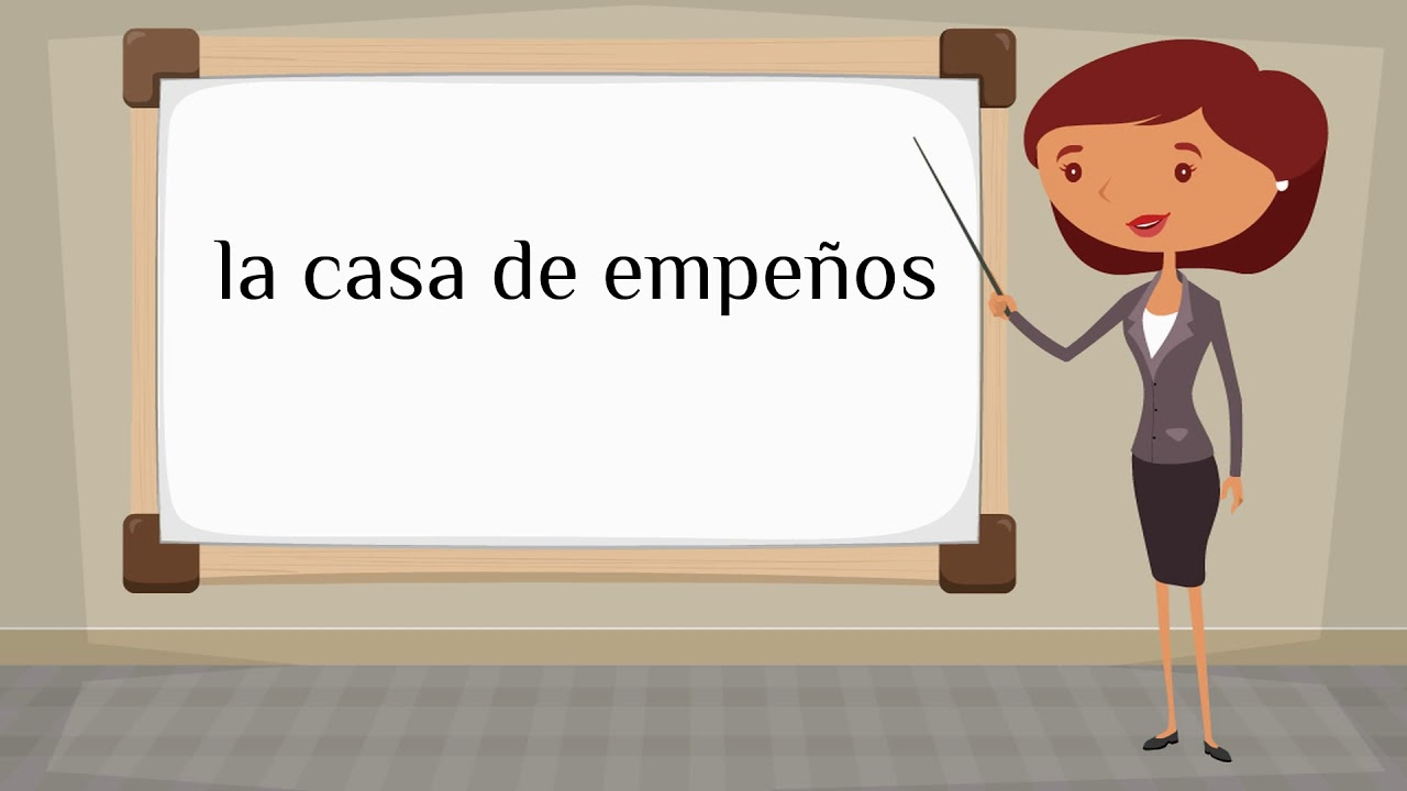 how to say poser in spanish