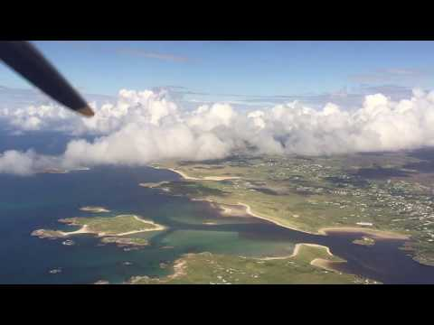 The Scenic Departure from Donegal Airport (CFN) in Ireland