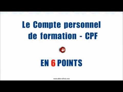 CPF : 6 points pour comprendre la réforme DIF