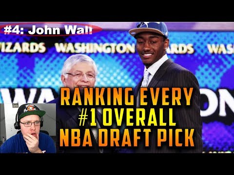 Reacting To Ranking Every #1 Overall NBA Draft Pick