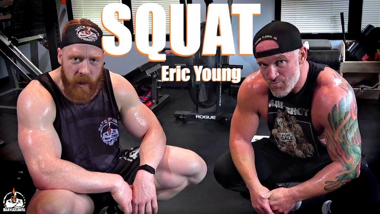 Eric Young Kettlebell Squat (WITH CARDIO!)