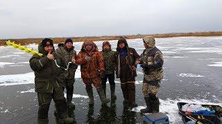 Зимняя рыбалка на жерлицы Открытие сезона зимней рыбалки на щуку
