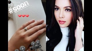Julia Montes Shows Engagement Ring, Wedding with Coco Martin Coming Soon?