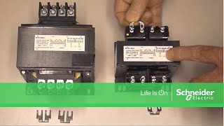 Installing Jumpers on Square D 9070 Industrial Control Transformers |  Schneider Electric Support - YouTubeYouTube