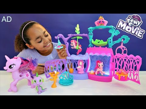 My Little Pony The Movie Surprise Toys - MLP Seashell Lagoon - Kids Toy Review