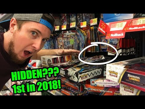 HYPE! FIRST HIDDEN POKEMON CARD SEARCHING IN 2018, What Did I Find #30