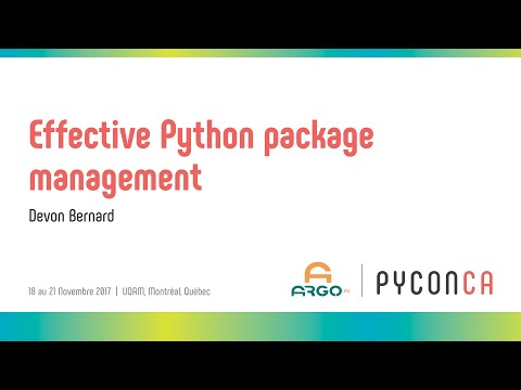 Image from Effective Python package management