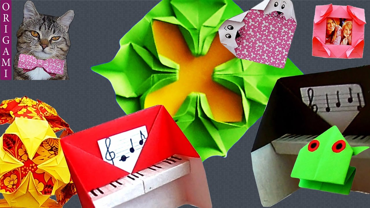 Origami is easy origami frog kusudama piano ornament envelope origami is easy origami frog kusudama piano ornament envelope tie valentine jeuxipadfo Images