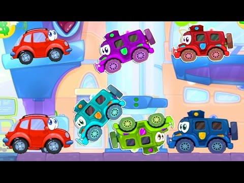 Машины мультик - новые серии.  Мультики про машинку Вилли 7 и опасную погоню злых грузовиков