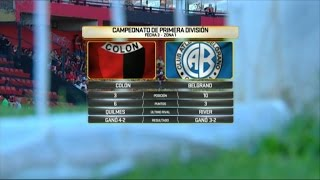 Colon de Santa Fe vs Belgrano full match