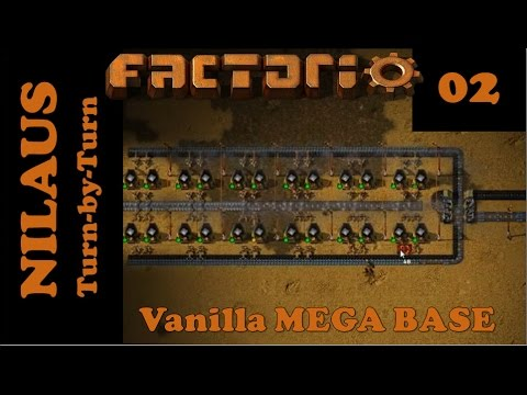 Factorio S7E02 - Iron and Copper Smelting