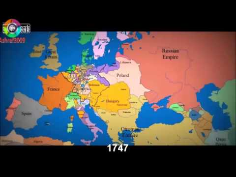 Europes history from 1300s